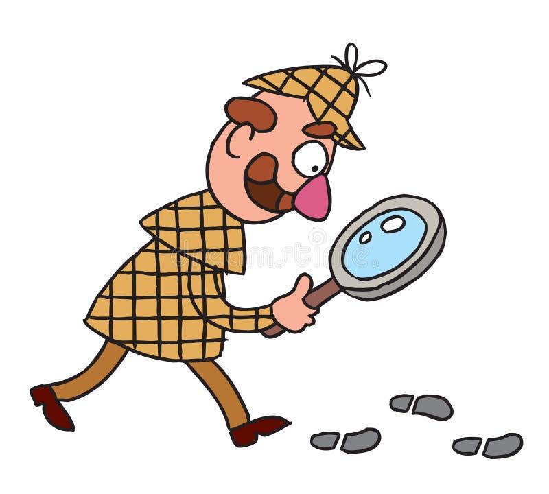 Detective stock illustration