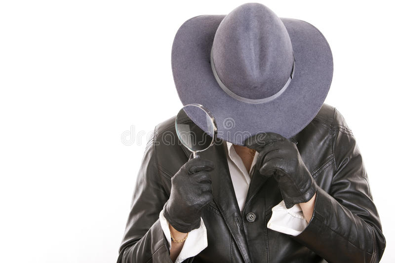 Download Detective stock photo. Image of business, inspector, magnifier - 27138588