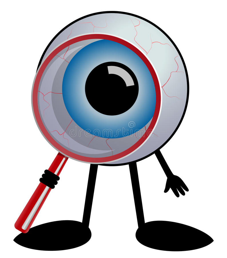 Detective Eye Stock Images