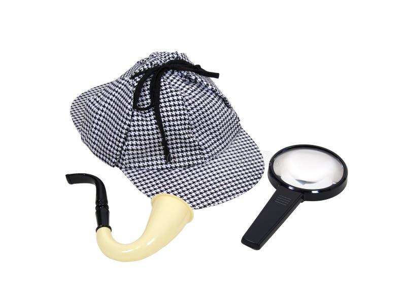 Detective kit royalty free stock photo