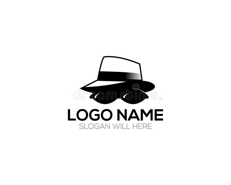 Detective Logo Template online store vectors illustration. This is very easy to use. U ca Use as your won simply royalty free illustration