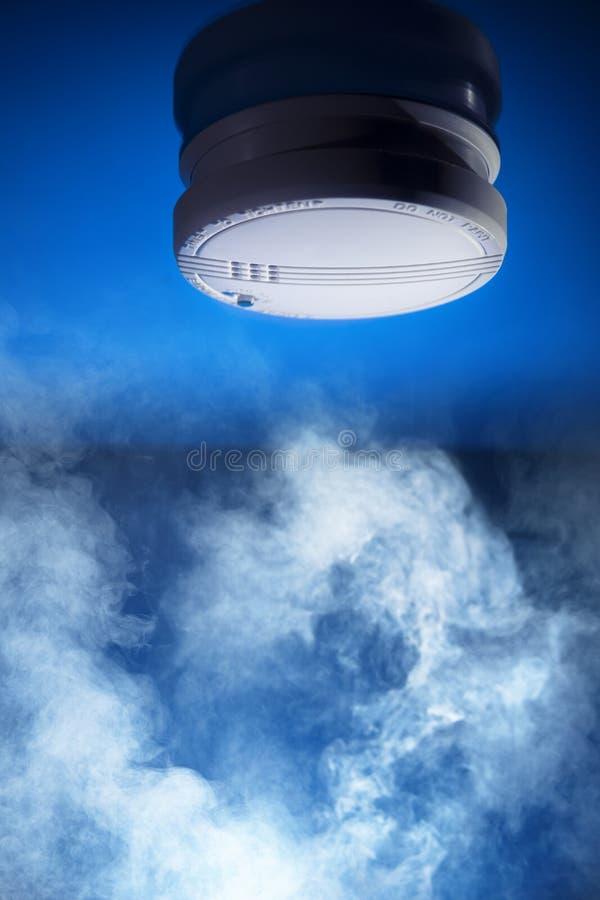 Detector de fumo imagem de stock