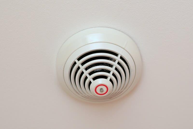 Detector de incendios foto de archivo