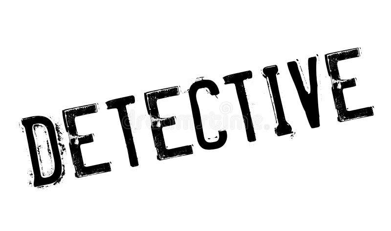 Detektivstempel vektor abbildung