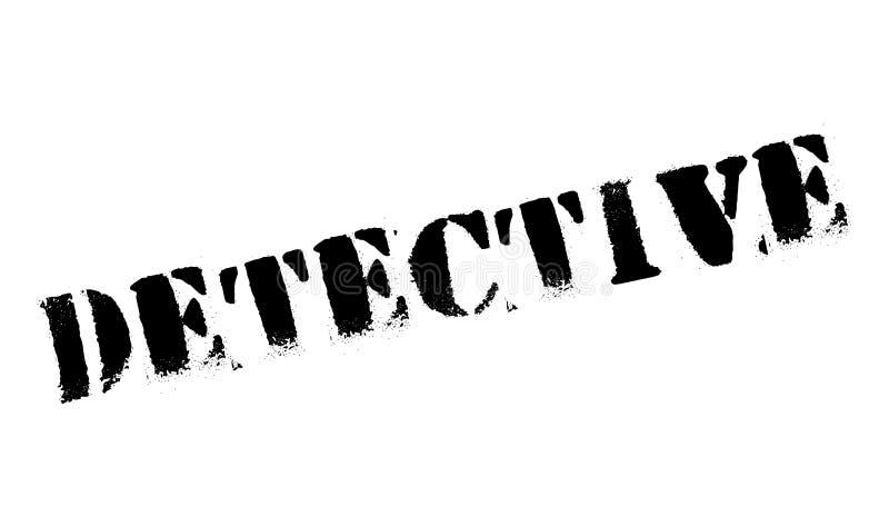 Detektivstempel lizenzfreie stockfotos