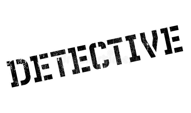 Detektivstempel stockfotos