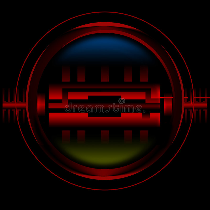 detektor ilustracja wektor