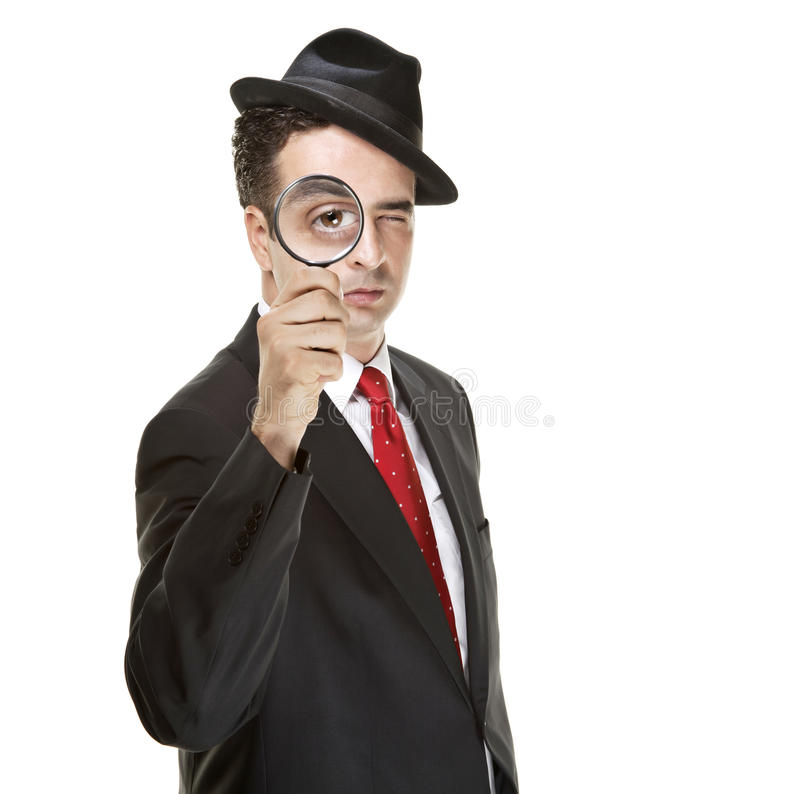 detektywi obrazy stock