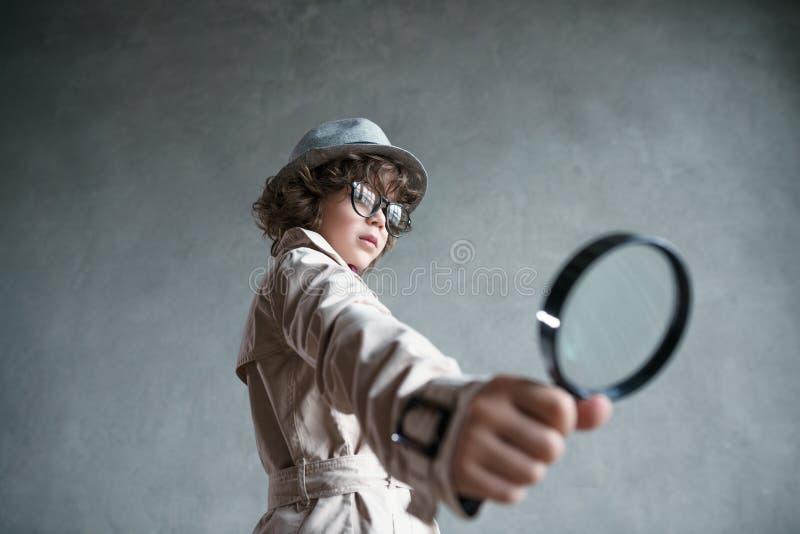 detektywi zdjęcie stock