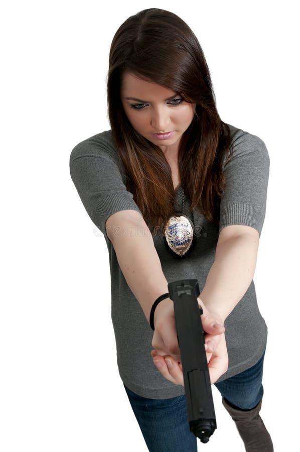 detektywistyczna kobieta obrazy stock