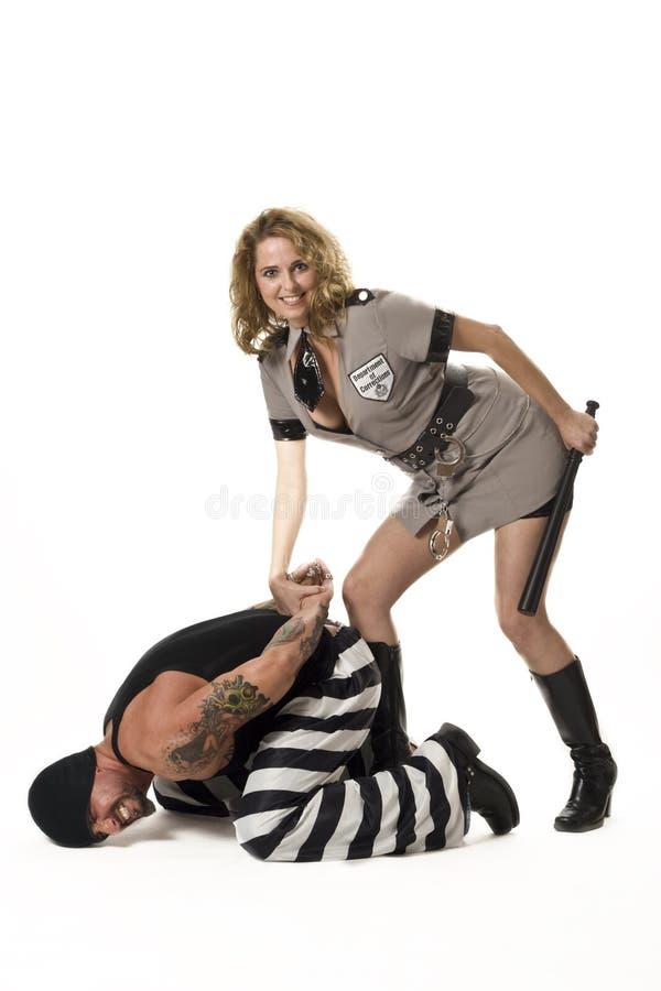 Detención criminal foto de archivo libre de regalías