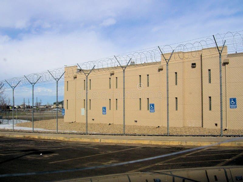 Detention Facility royalty free stock photo