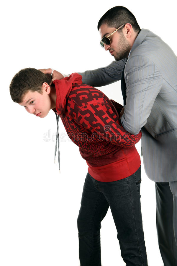 Download The Detention Of The Offender Stock Image - Image: 10653899