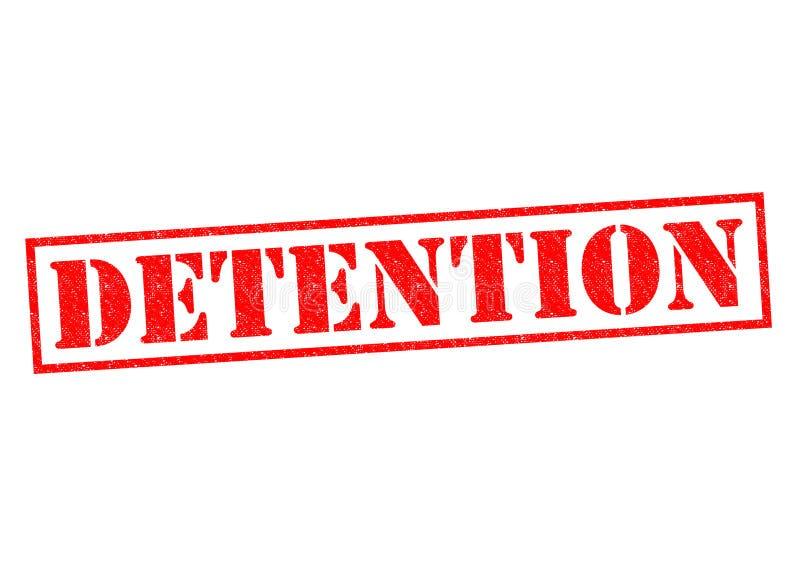 detenzione illustrazione vettoriale