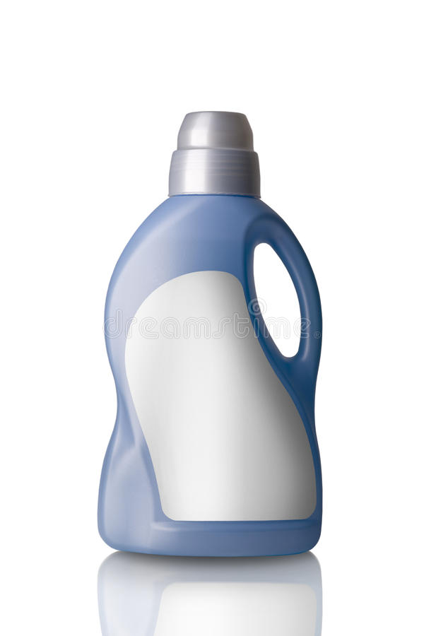 Free Detergent Blue Bottle Royalty Free Stock Photography - 14626227