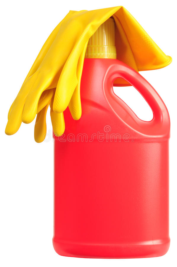 Download Detergent bottle. stock image. Image of conditioner, colorful - 12400271
