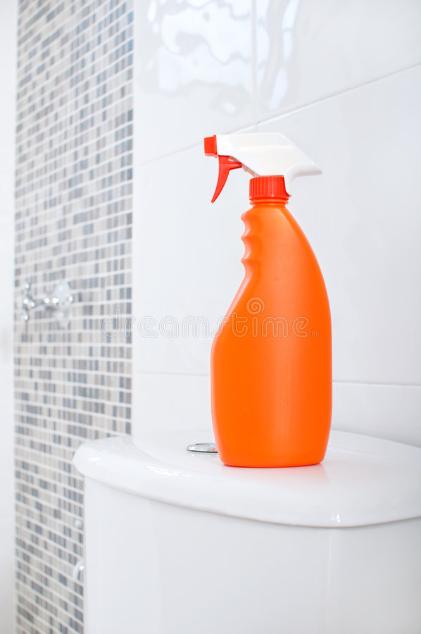 Detergent cleaner royalty free stock image