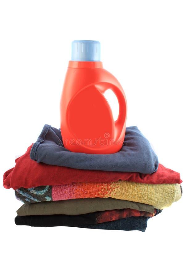 detergent laudry fotografia stock