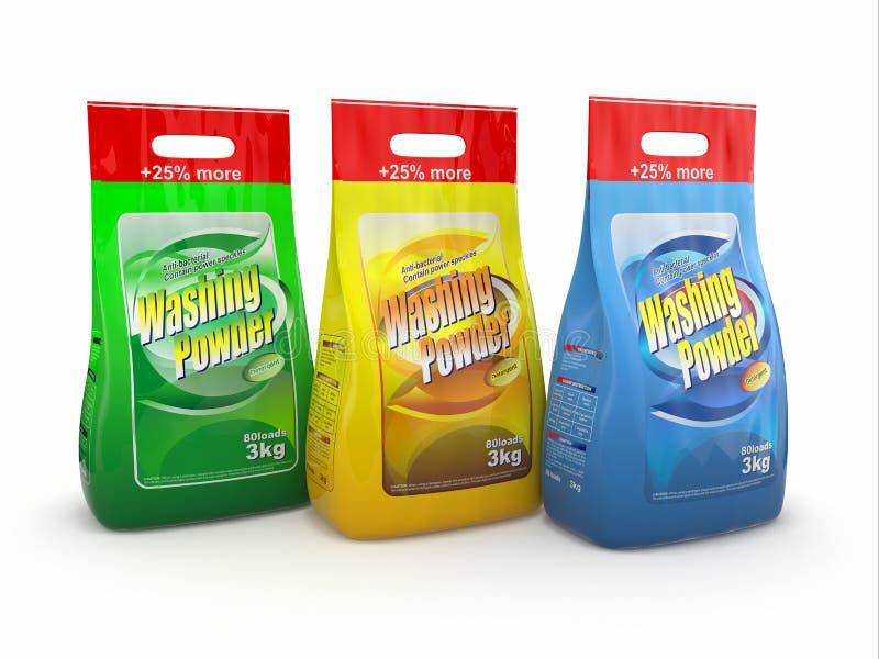 Detergente ilustración del vector