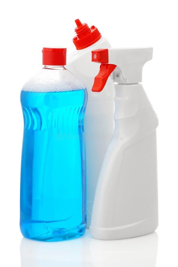 Detergentia voor het schoonmaken royalty-vrije stock foto