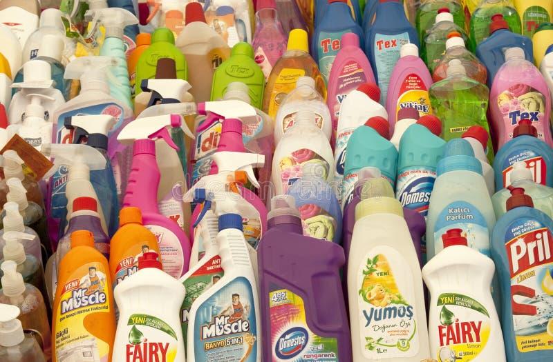 Detergents stock photo