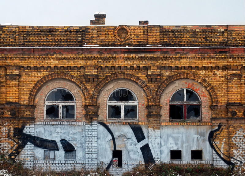Download Deteriorated Brilliance Of The Wilheminian Style Stock Photo - Image: 18114054