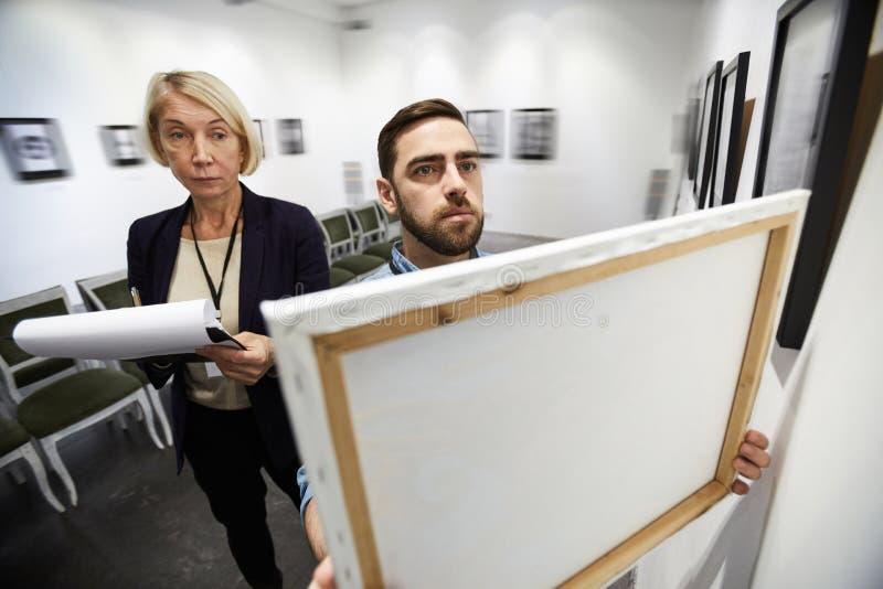 Determinación de la exposición en galería imágenes de archivo libres de regalías