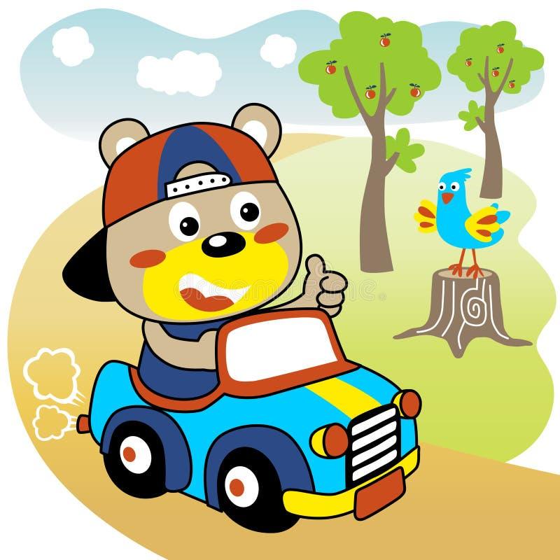 Determinare una vista di Car royalty illustrazione gratis