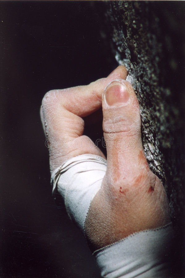 Download Determination II stock image. Image of bandaged, will, grit - 138583