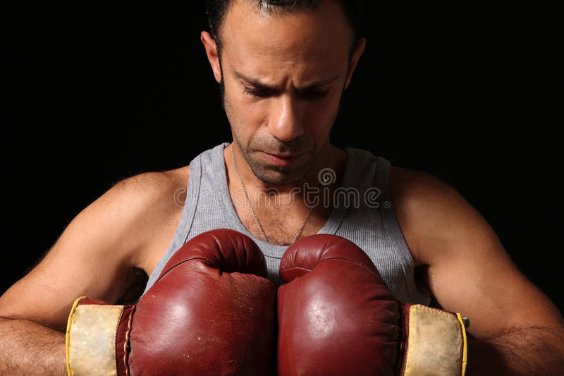 Download Determined boxer stock image. Image of boxer, fight, shadow - 21894797