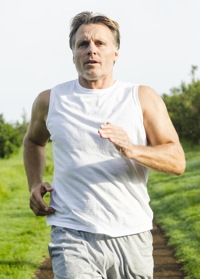 Download Determined Looking Sportsman. Stock Image - Image: 25854095