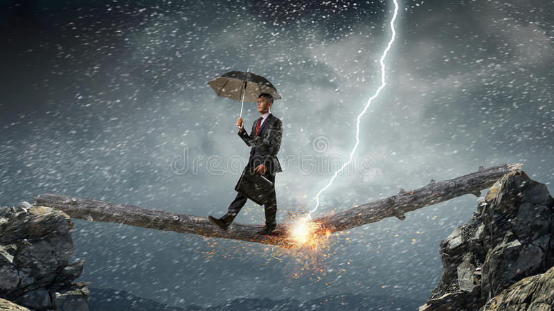 Download Determined To Face Any Challenge. Mixed Media Stock Illustration - Image: 97337987