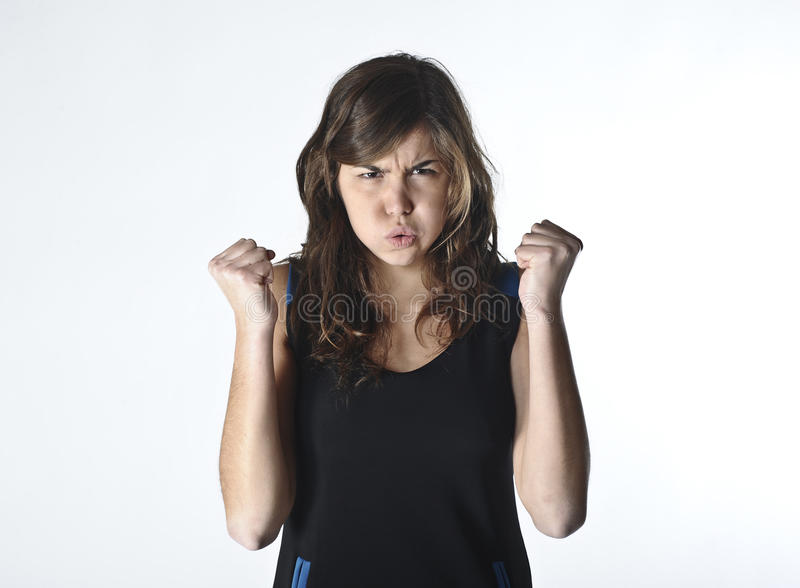 Download Determined Woman Exercising Stock Photo - Image: 26966540