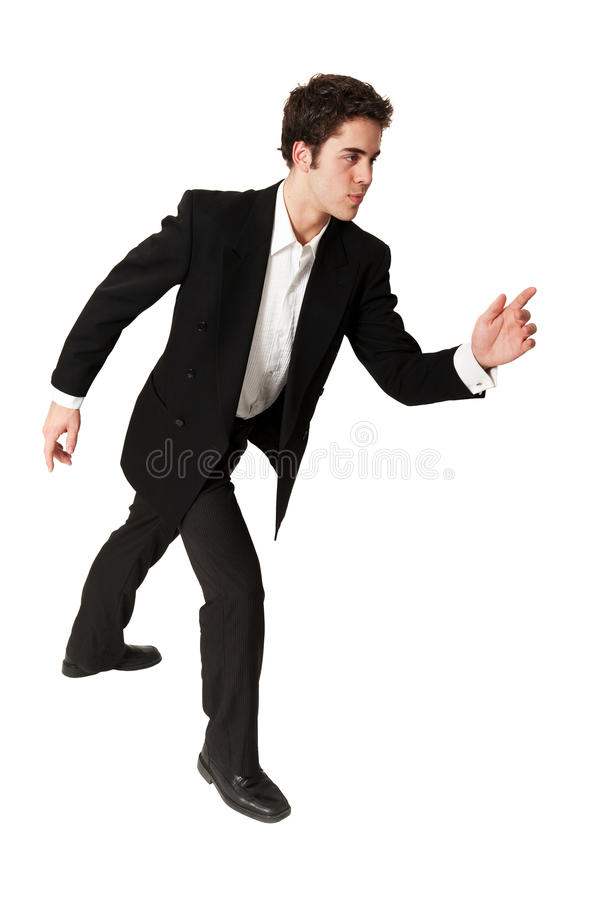 Download Determined Young Businessman Stock Photo - Image: 9481370