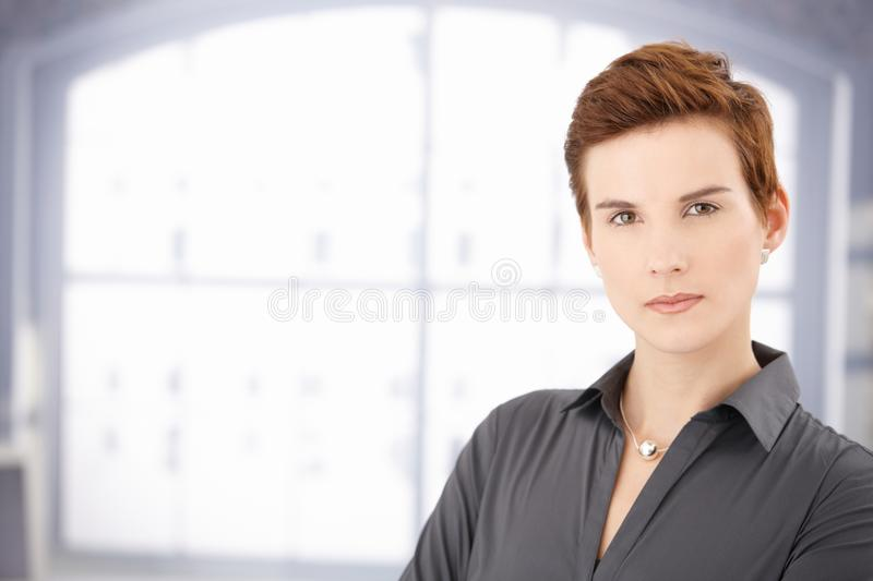 Determined Young Woman Stock Images