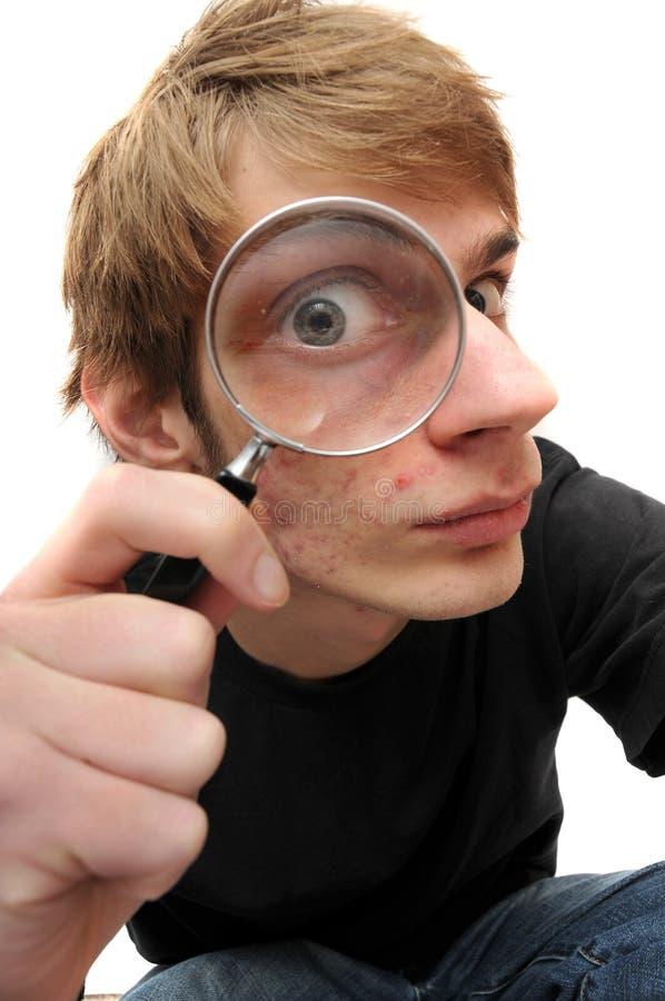 Detetive confidencial do inspector fotos de stock royalty free
