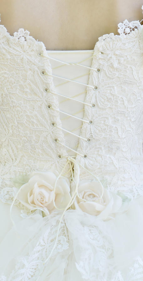 detial γάμος φορεμάτων στοκ φωτογραφίες με δικαίωμα ελεύθερης χρήσης