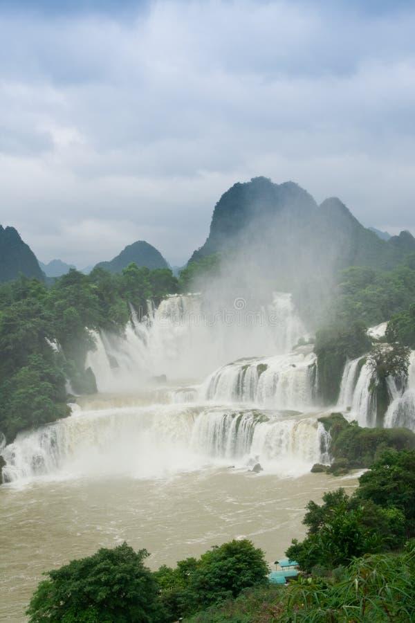 detian водопад стоковое фото rf