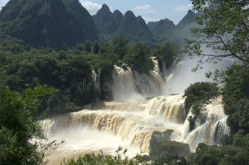 detian водопад стоковая фотография