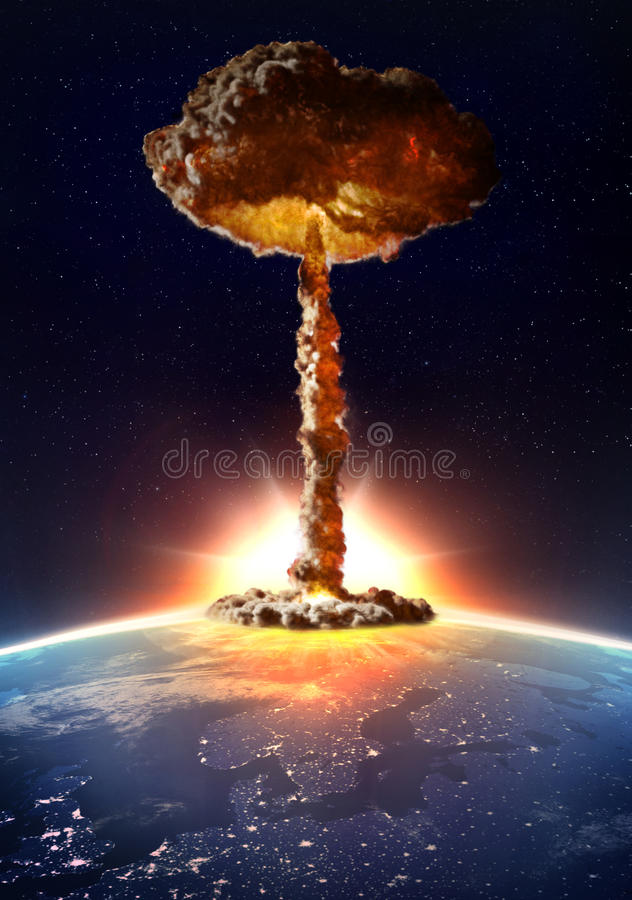 Download Detonación De La Bomba Nuclear Stock de ilustración - Ilustración de explosión, energía: 42432680