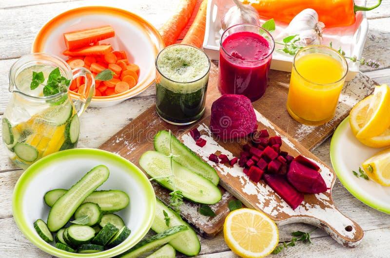 detox Het gezonde Eten royalty-vrije stock fotografie
