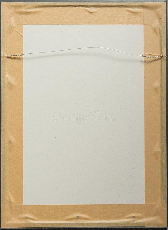 Detrás de la imagen enmarcada de madera imágenes de archivo libres de regalías