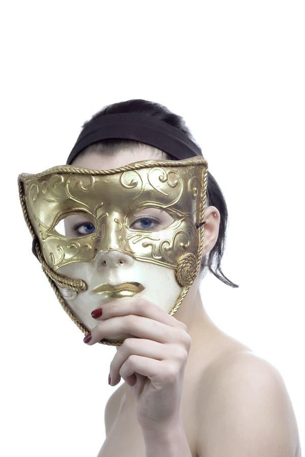 Detrás de la máscara 2 imágenes de archivo libres de regalías