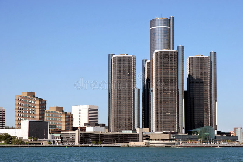 Detroit foto de stock royalty free