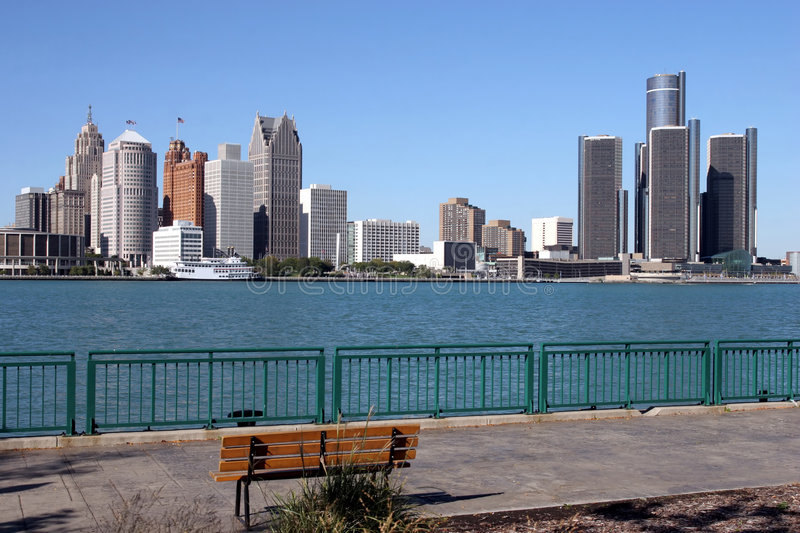 Detroit royalty free stock photography