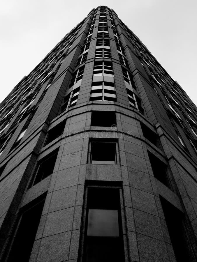Detroit byggnad fotografering för bildbyråer