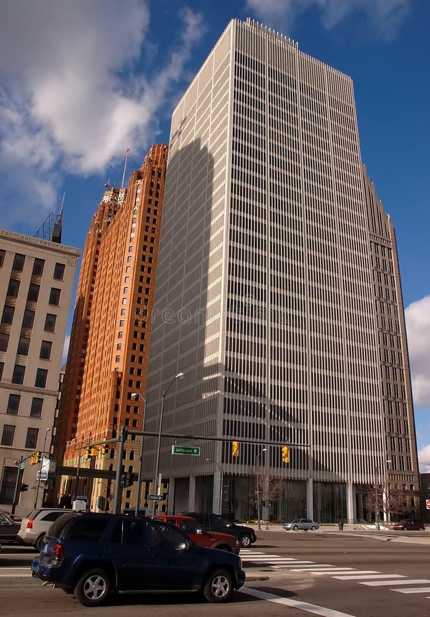 Detroit céntrica imagen de archivo
