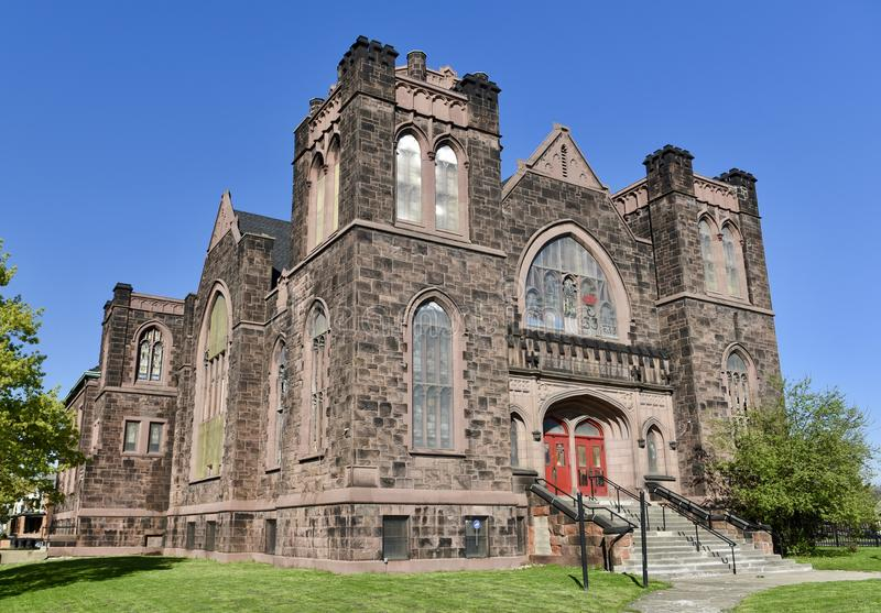 Download Detroit Church stock image. Image of woodward, michigan - 91142533