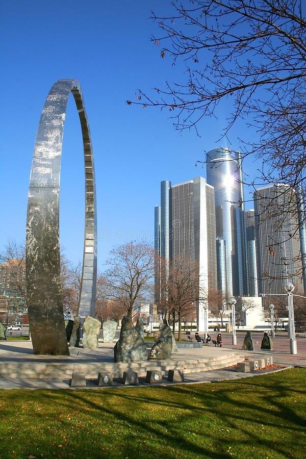 Detroit du centre images libres de droits