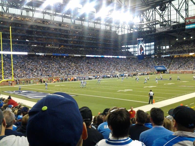 Detroit Lions στοκ εικόνα
